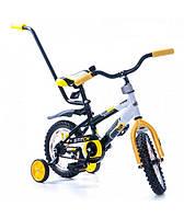 Детский велосипед AZIMUT PREMIUM STITCH 12 дюймов