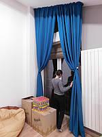 Текстильное оформление 2-х уровневой квартиры (нестандартные окна) Комфорт Таун 2
