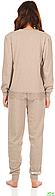 Пижама женская JOKAMI STELLA бежевая