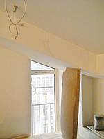 Текстильное оформление 2-х уровневой квартиры (нестандартные окна) Комфорт Таун 5