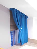 Текстильное оформление 2-х уровневой квартиры (нестандартные окна) Комфорт Таун 7