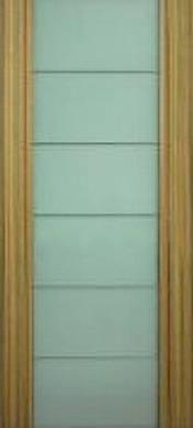 Дверное полотно Премьера шпон с молдингом