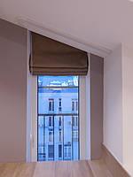 Текстильное оформление 2-х уровневой квартиры (нестандартные окна) Комфорт Таун 6