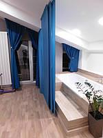 Текстильное оформление 2-х уровневой квартиры (нестандартные окна) Комфорт Таун 9
