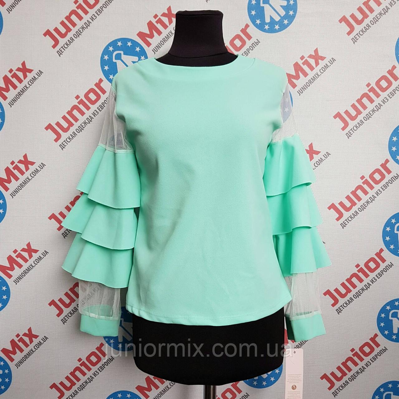 Модная детская блузка на девочку Kids moda ИТАЛИЯ