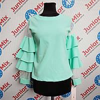 Модная детская блузка на девочку Kids moda ИТАЛИЯ, фото 1