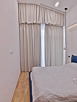 Текстильное оформление 2-х уровневой квартиры (нестандартные окна) Комфорт Таун 11