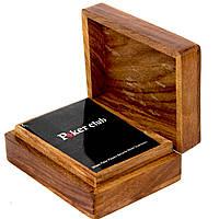 Пластиковые игральные карты Poker club в деревянном футляре WB-109R