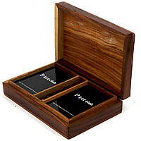 Пластиковые игральные карты Poker club в подарочном футляре WB-111B