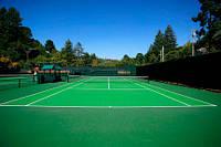 Покрытие из резиновой крошки для теннисного корта