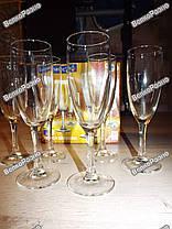 Набор из 6 бокалов для шампанского / Бокалы для шампанского, фото 2