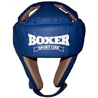 Шлем каратэ BOXER материал кожвинил размер L