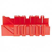 Стусло, 300 х 90 мм, пластмассовое, 4 угла для запила// MTX 22547