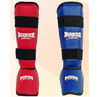 Защита голени и стопы BOXER размер М материал кожвинил