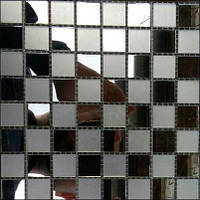 Зеркальная мозаика ZM-06 шахматка