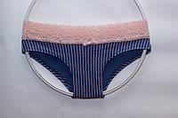 Хлопковые трусики шортики с кружевом ТМ Pink Secret
