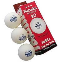 Мячи теннисные Double Fish и Nittaku