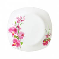 Тарелка кв Орхидея 200мм