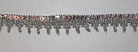 Тесьма декоративная люрекс серебро  6113