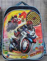 Ранец Рюкзак Disney школьный ортопедический Мото 17-3302-3