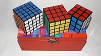 """Подарочный набор кубиков Рубика """"3+4+5"""" от ShengShou в шкатулке"""