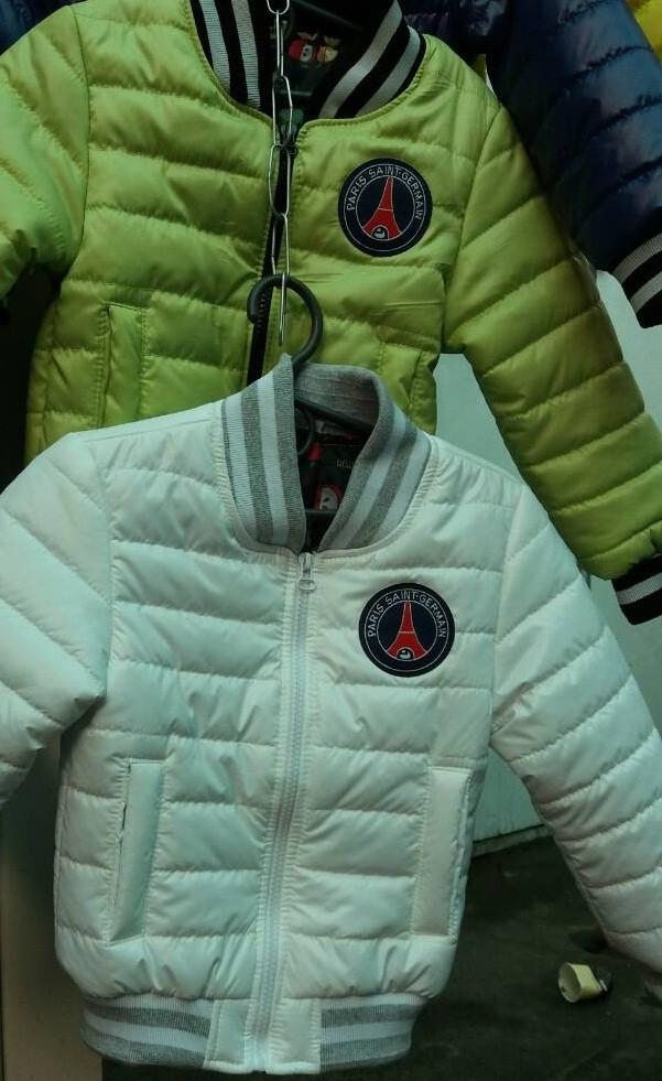 Детская модная куртка для мальчика (деми)