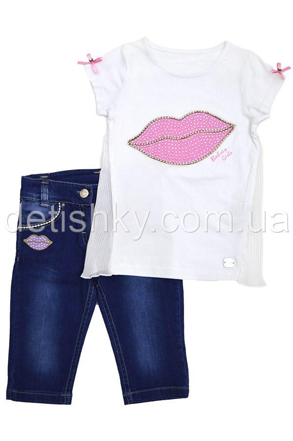 638aac0345a6 Комплект  бриджи и туника для девочки - Mandarina.com.ua магазин детской  одежды