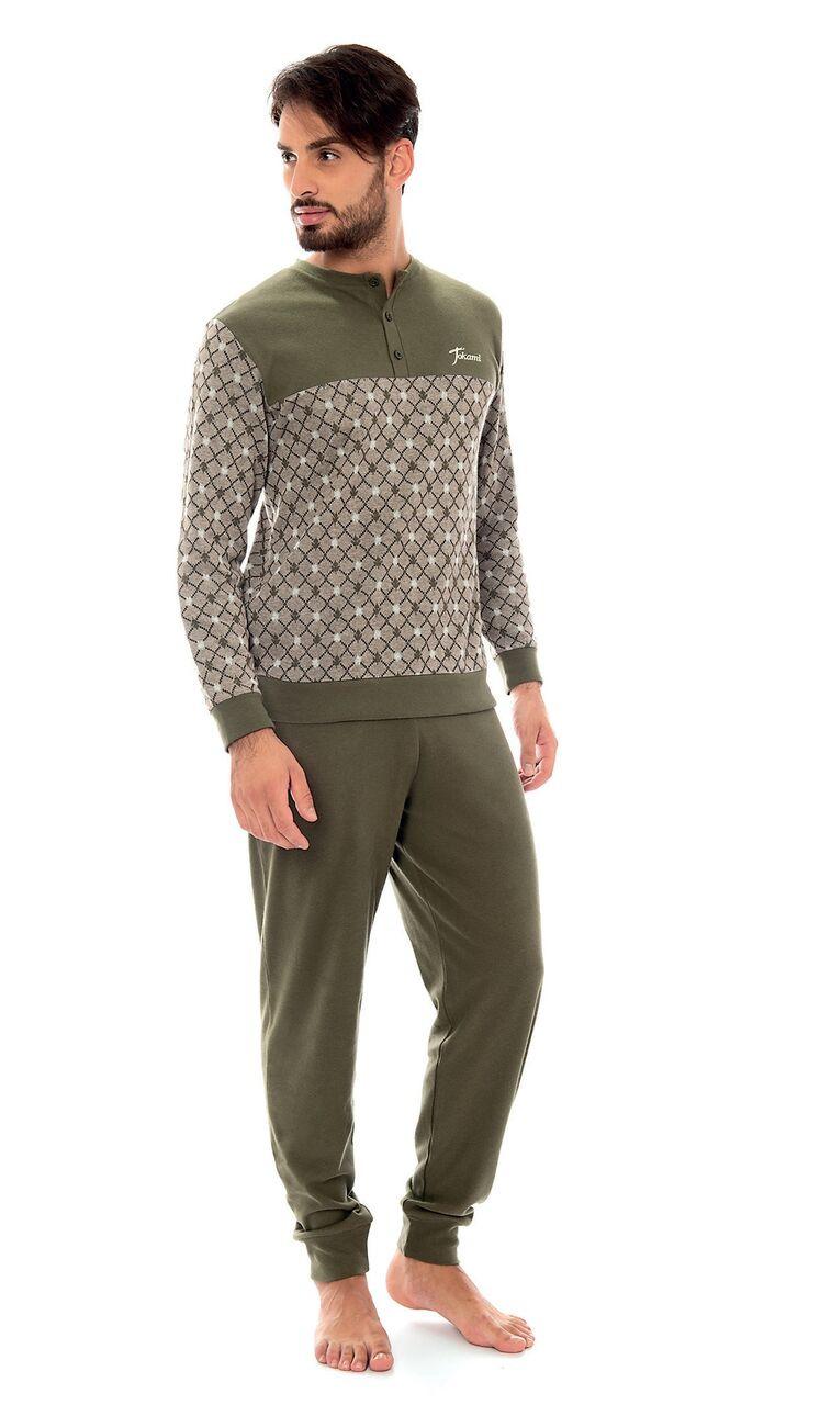 3e0165c9f1226 Пижама мужская JOKAMI ORION зеленая - Интернет-магазин
