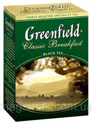 Чай Greenfield Classic Breakfast, 100 г , фото 2