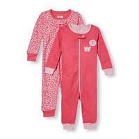 Пижама на молнии Childrensplace Набор из 2-х пижамок