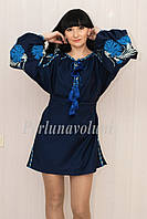Платье, туника СЖ 95-15,платье с вышивкой, вышитое платье, вышивка, купить  платье, фото 1