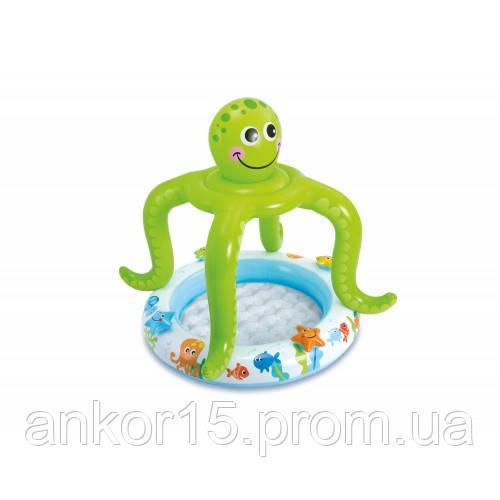 Бассейн надувной детский Осьминожка Intex 57115