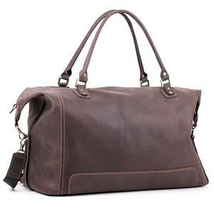 Шкіряні дорожні сумки-саквояжі