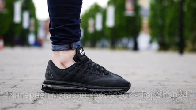 "Кроссовки Nike Air Max 2016 ""Triple Black"""