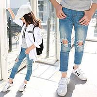 Джинси, штани для дівчаток