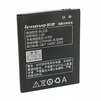 Аккумулятор (батарея) Lenovo A380,A588 / BL228 (2250 mAh)