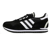Кроссовки мужские Adidas ZX 400 Black White (в стиле адидас)