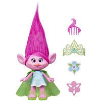 DreamWorks Коллекционная фигурка Тролль Поппи 23 см Trolls Poppy 9-Inch Figure