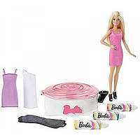 Barbie Набор Барби Арт-дизайнер одежды Spin Art Designer with Doll Blonde DMC10