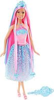 Barbie Барби принцесса Сказочно-длинные волосы голубая Endless Hair Kingdom Princess Doll - Blue