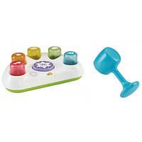 Fisher Price Музыкальная игрушка стучалка Tappin Beats Bench CDC12