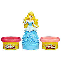 Play-Doh Принцессы Диснея Принцесса Аврора с блестками Mix 'n Match Figure Featuring Disney Princess Aurora