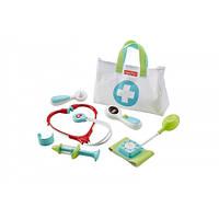 Fisher-Price Медицинский набор доктора в белой сумочке Medical Kit DVH14