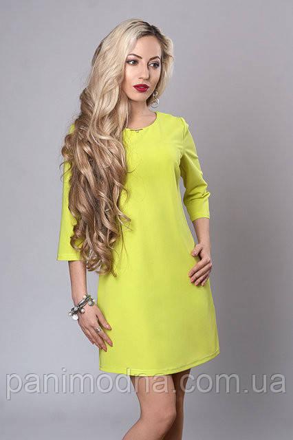 """Яркое весеннее платье  - """"Инара""""  код 237"""