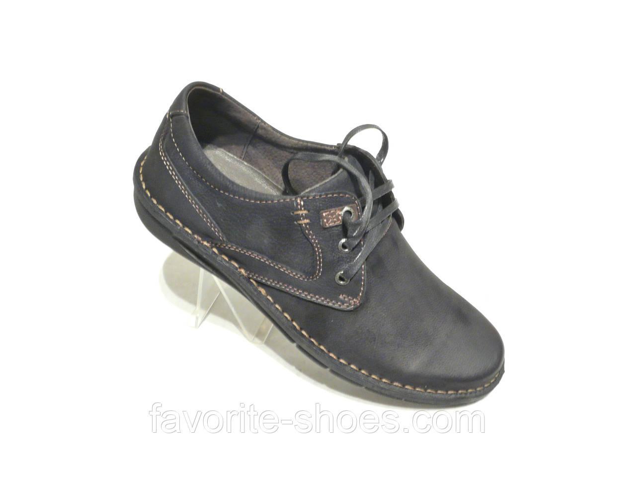 6bbbf98af Мужские кожаные туфли черные DETTA макасин: продажа, цена в ...