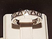 Серебряное кольцо с фианитами. Артикул 901-00237, фото 1