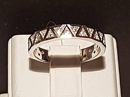 Срібне кільце з фіанітами. Артикул 901-00237 17,5