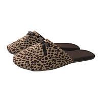 Домашние тапочки Леопард