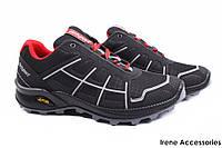 Кроссовки мужские Gri Sport текстиль черные (мокасины мужские, комфорт, платформа, Италия)