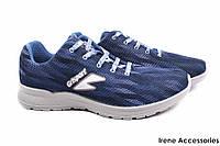 Кроссовки мужские Gri Sport текстиль синие (мокасины мужские, комфорт, платформа, Италия)